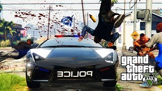 GTA 5 ONLINE: COPS IN THE HOOD EP 5 (WAR ON CRIPS AND BLOODS) [HQ]