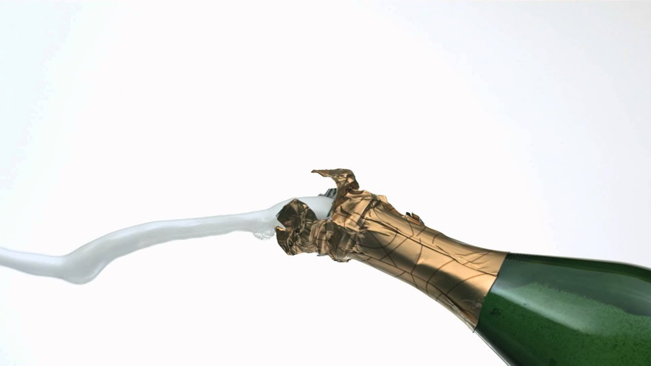 Popping champagne bottles with her pussy 6