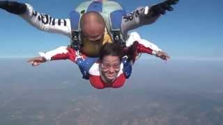 Ilk paraşütle atlama deneyimim....