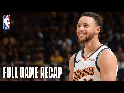CLIPPERS Vs WARRIORS   Golden State Shows Off Throwback Jerseys, Clinch Top Seed   April 7, 2019