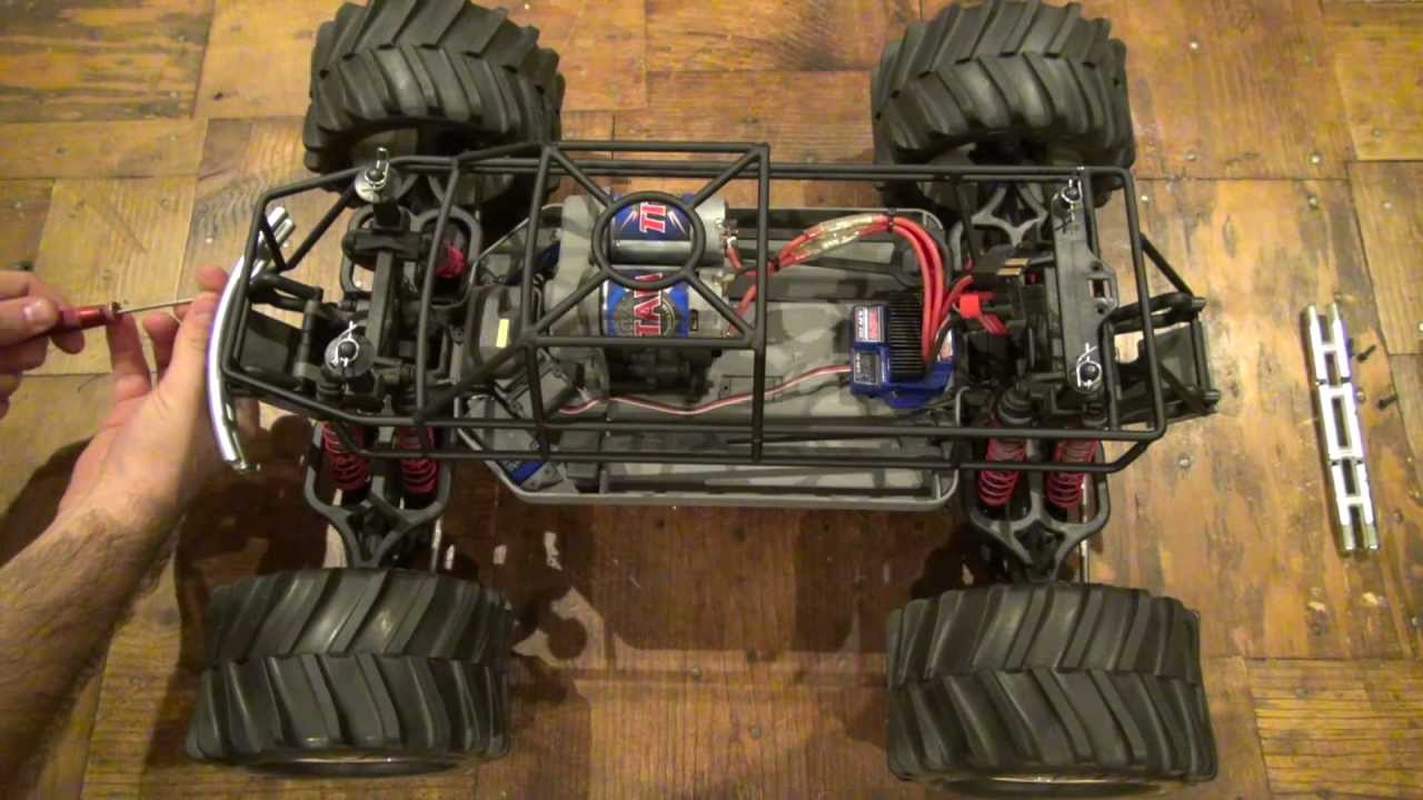 Vg Racing E Maxx Roll Cage Youtube