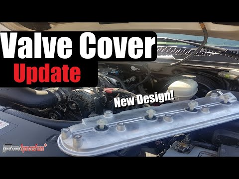LS Motor Valve Cover Update oil in Intake Manifold (PCV System) | AnthonyJ350