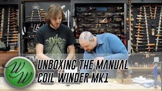 Weekend Workshop - a look at the new Manual Coil Winder MK1