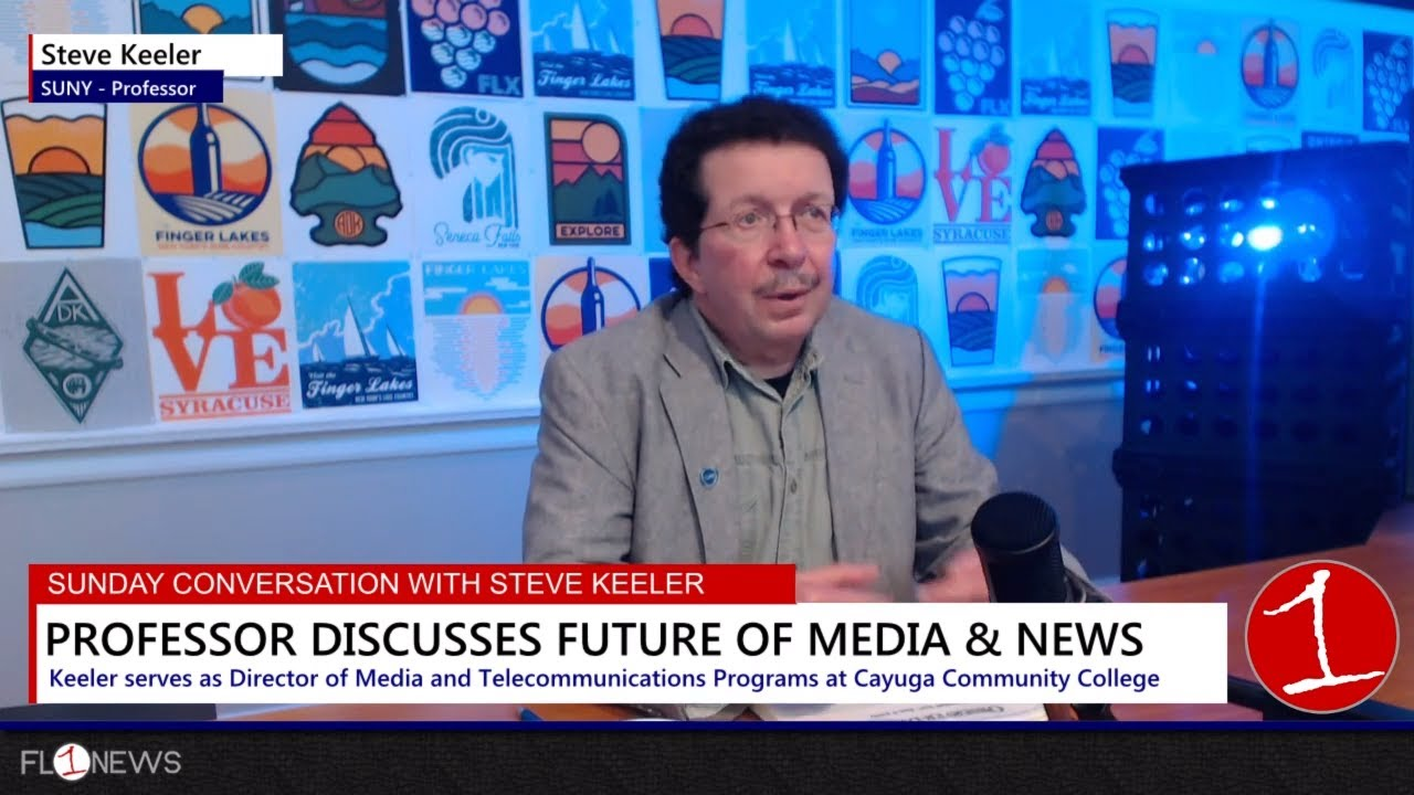 SUNDAY CONVERSATION: Steve Keeler on the future of media in Finger Lakes