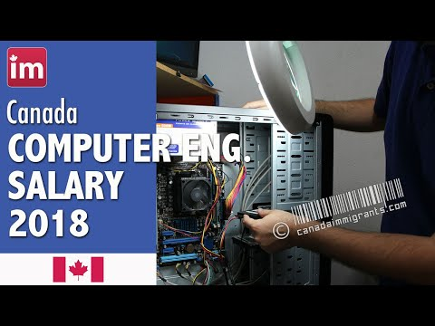 Computer Engineer Salary In Canada (2018) - Wages In Canada