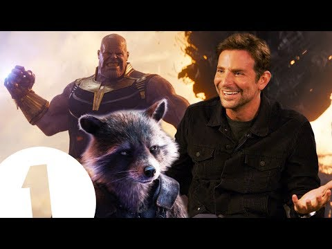"""Thanos has a point!"" Bradley Cooper on Rocket Racoon and The Avengers"
