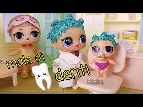 😷🏥 Le Lol Surprise hanno bisogno di un DENTISTA: lil cosmic perde un dente!