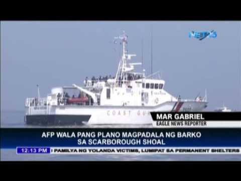 AFP still has no plan to send ships in Scarborough shoal