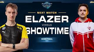 Elazer vs ShoWTimE ZvP - Semifinals - WCS Challenger EU Season 1