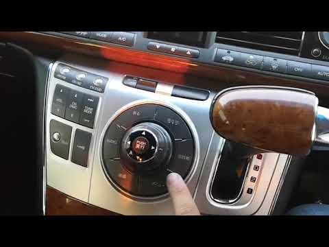 Хонда элюзион магнитола скрытое меню
