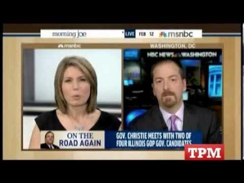 'Morning Joe' Panelist Outraged That Chuck Todd Didn't Praise Christie