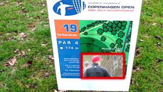 PDGA Disc Golf  - Copenhagen Open Denmark April 15, 2012