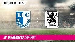 1. FC Magdeburg - 1860 München | Spieltag 6, 19/20 | MAGENTA SPORT