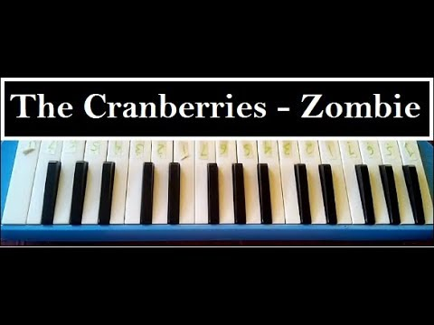 Pianika Zombie The Cranberries Cover Youtube