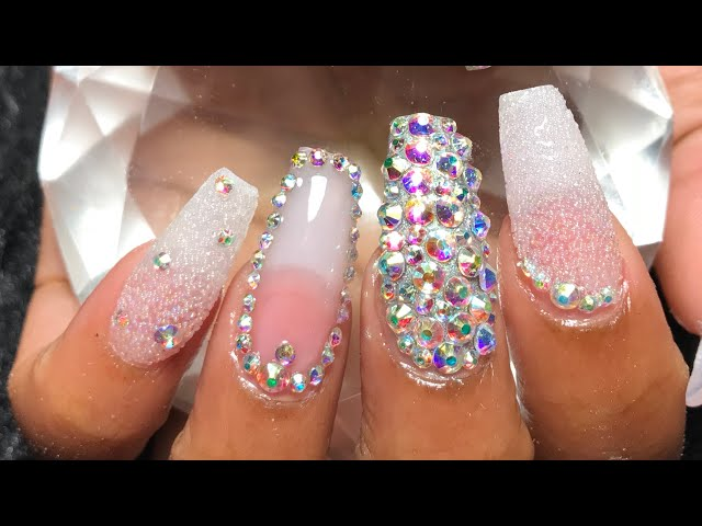 Acrylic Nails Fullset | Bling Nails
