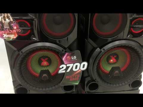Mini System LG CM9760 2700 Watts RMS? Só que não, kkkkkkkkkkkk