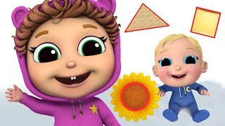Download lagu Learn Shapes | Where Do You See a Circle? | Baby Joy Joy on Clap Clap Baby