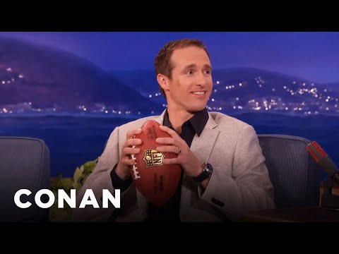 Drew Brees On Deflategate - CONAN on TBS