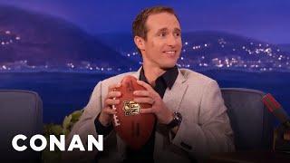 Drew Brees On Deflategate - CONAN on TBS