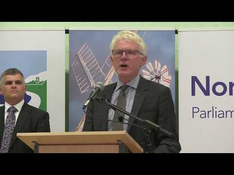 General Election: Norman Lamb wins in North Norfolk