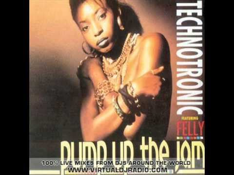 Technotronic Featuring Felly - Pump Up The Jam - 1989 Sbk Records Lp