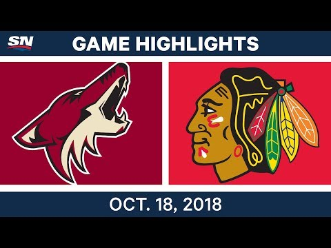 NHL Highlights | Coyotes vs. Blackhawks - Oct. 18, 2018