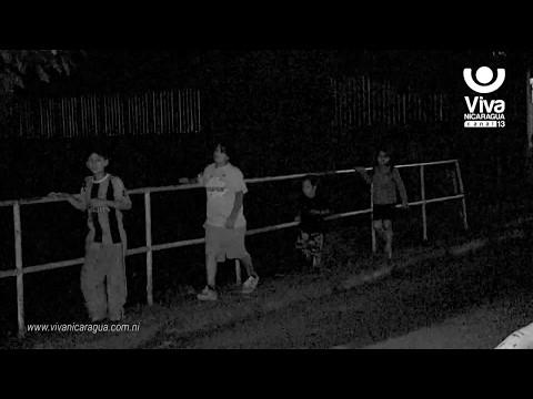 Aparición fantasmal en puente de Jinotega