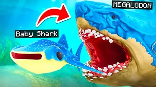 Eat SHARKS to GROW BIGGER!