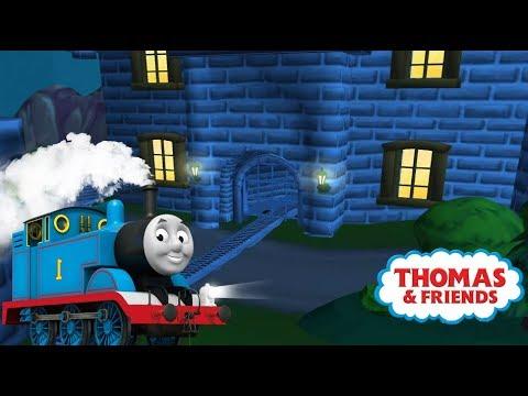 Thomas y sus amigos en español - Tomas en las vias magicas noche Completo Latino