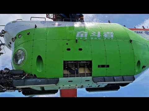 China's manned sub dives over 10,000 meters in Mariana Trench