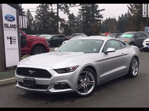 2017 Ford Mustang Manual Ecoboost Fastback Backup Camera Review Island