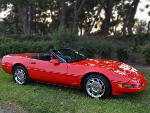 Sold 1996 Red Lt 4 Corvette Convertible For By Mike Anaheim California 92807