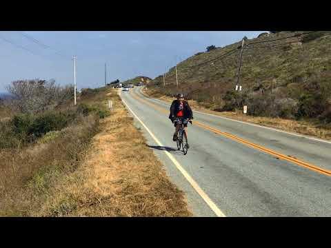 Carmel Goes on a Biking Adventure - Big Sur