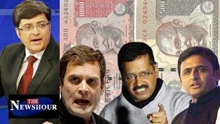 WAR On Black Money - What's The Opposition Complaining About?: The Newshour Debate (10th Nov)