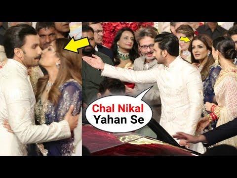 Ranveer Singh INSULTS Raveena Tandon Husband At Isha Ambani Wedding