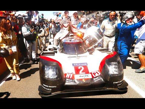 Porsche Win Le Mans 2017 Official Porsche Tribute Video Le Mans Winners 2017 Hat Trick  CARJAM