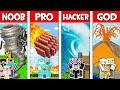 Minecraft NOOB vs PRO vs HACKER vs GOD: FAMILY APOCALYPSE in Minecraft Animation