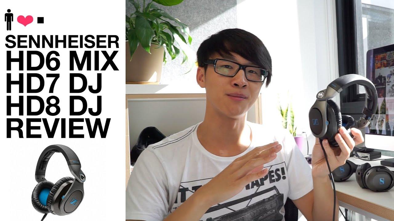 sennheiser hd6 mix hd7 dj hd8 dj in depth review comparisons youtube. Black Bedroom Furniture Sets. Home Design Ideas