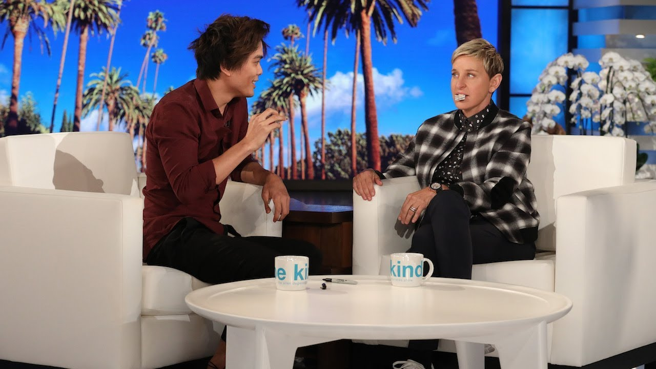 Magician Shin Lim, 'AGT' Winner, Leaves Ellen Speechless