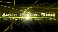 Ammo Quest 9mm: DoubleTap 115 grain +P ammo test in ballistic gelatin