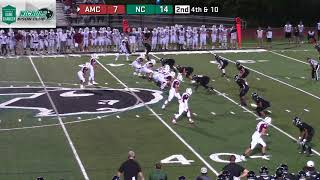 Gambar cover Nichols College Football vs Anna Maria College 9-7-18
