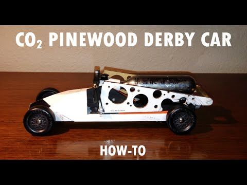 How to Build a Fast co2 Pinewood Derby Car