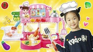 뽀로로 바베큐 장난감으로 레스토랑 놀이해봐요! 호빵맨도시락 아이스크림 빵 다있어요!! 보람튜브 서은이야기도 우리 레스토랑 놀러와요. - 마슈토이 Mashu ToysReview
