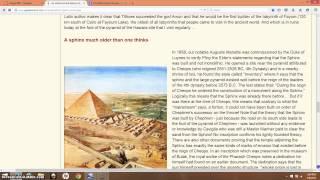 The Ignored Sphinx Inscription