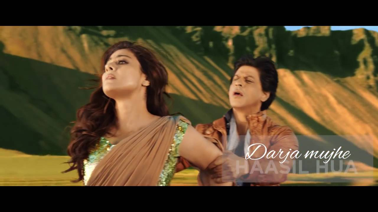 Dilwale | Gerua Lyric Video,   Shah Rukh Khan,  Kajol,   SRK Kajol Official Lyric Video