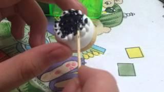 黏土教學---藍莓芝士蛋糕part3