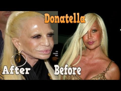 Donatella Versace ♕ Transformation  From 26 To 63 Years OLD