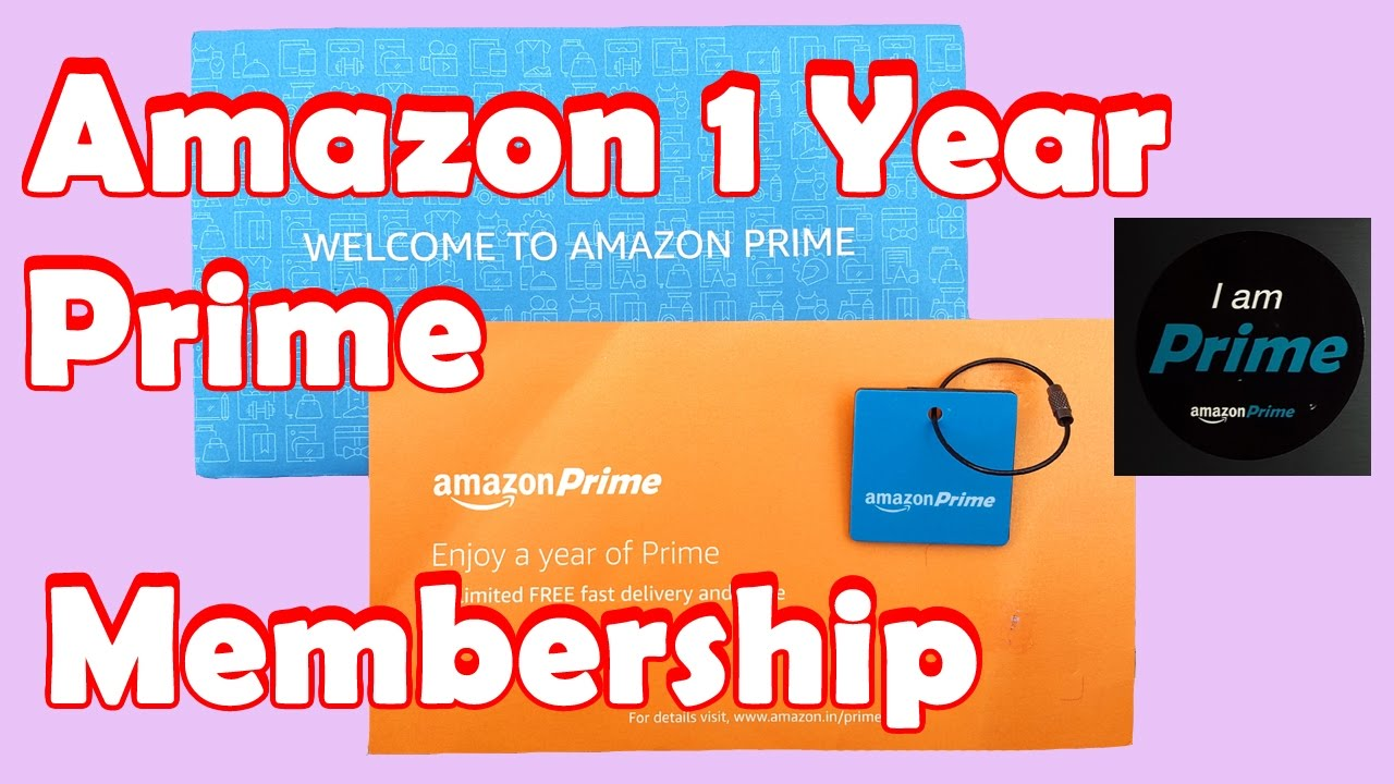 Amazon Prime Membership In India With Prime Video Youtube