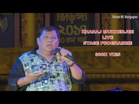 kharaj mukherjee/live comedy/stage programme/durgapur