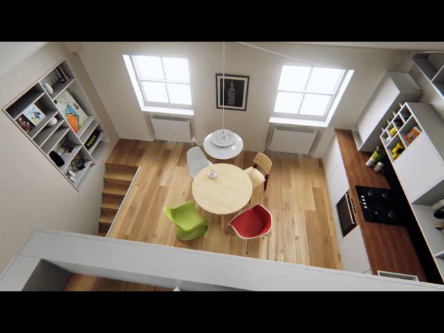 Unreal Engine 4 Continues To Churn Out Cool Apartments